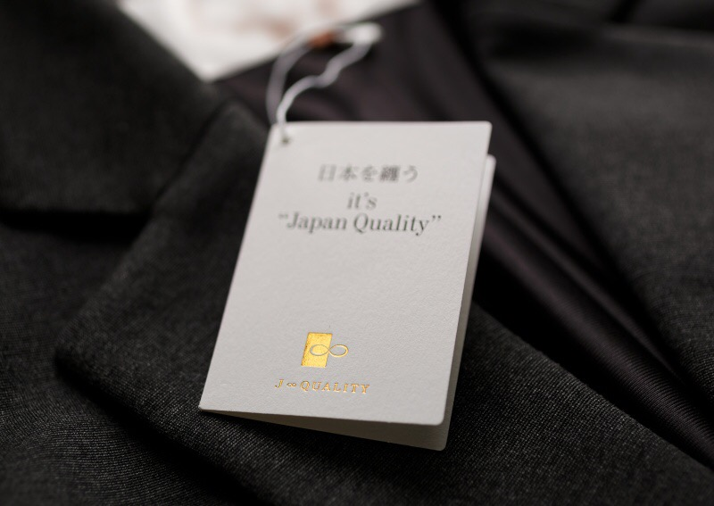 ニット製品にもJ∞QUALITY日本品質の証明!