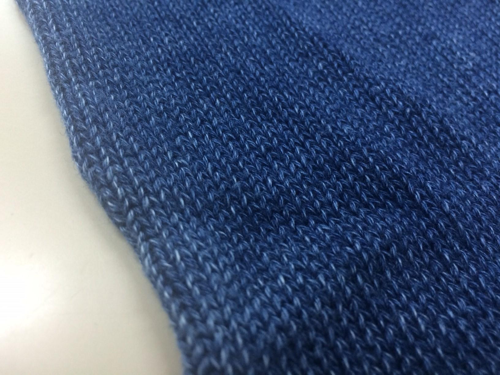 Punto D'oro.のインディゴニット|糸の特徴と加工について