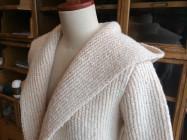 ニットの接結編み(ダンボール編み)について紹介します