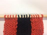初心者のための棒針編みの始め方|ストライプ(縦縞)の編み方