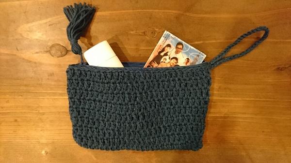 ポーチ かぎ針 「編み物 ポーチ」のアイデア